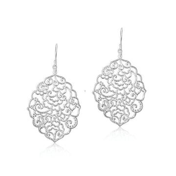 The Magic of Bali earrings - silver