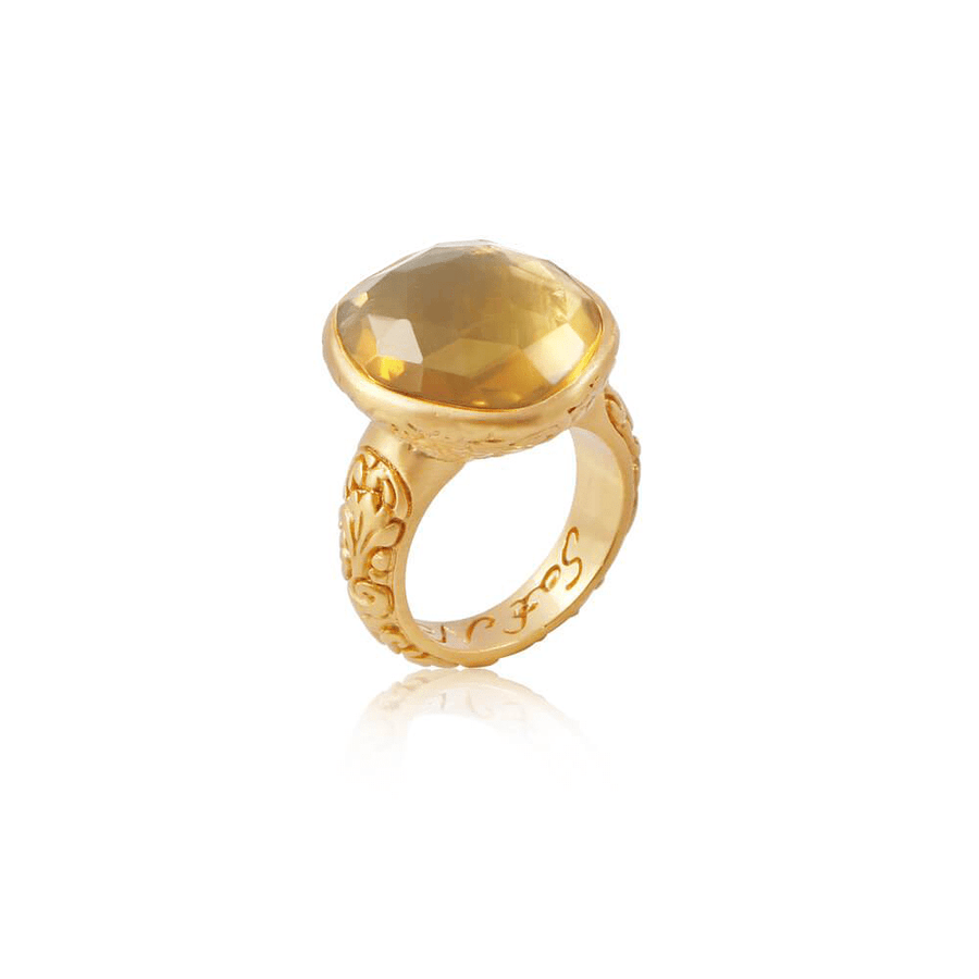 Truth of My Soul Ring • Citrine