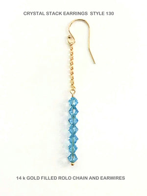 Crystal Stack Earrings