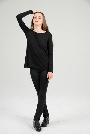 """Silky"" A-Line Swing Top"