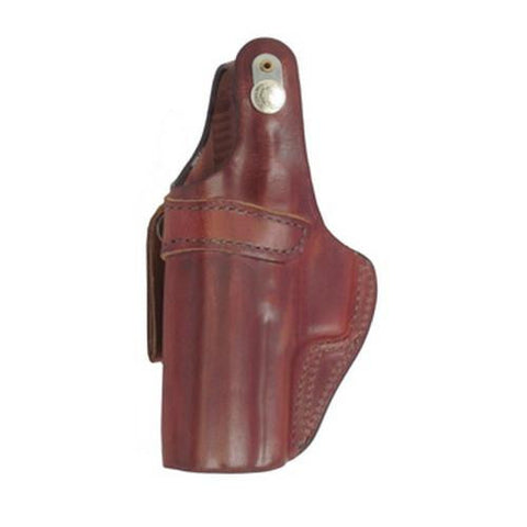 Bianchi - 3S Pistol Pocket Leather Holster - Plain Tan, Size 02, Right Hand