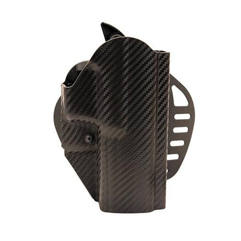 Hogue - Powerspeed ARS Stage 1 CarbonFiber Weave Holster - C22 Springfield XDM Right Hand Holster