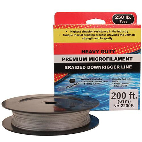 Scotty - PBF Downrigger Line - 250 lb Test, 200 Feet Spl Kit