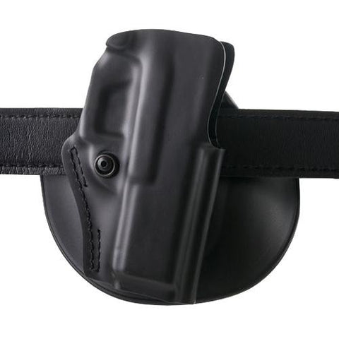 Safariland - Open Top Paddle-Belt Slide Holster - Glock 17, 22, Plain Black