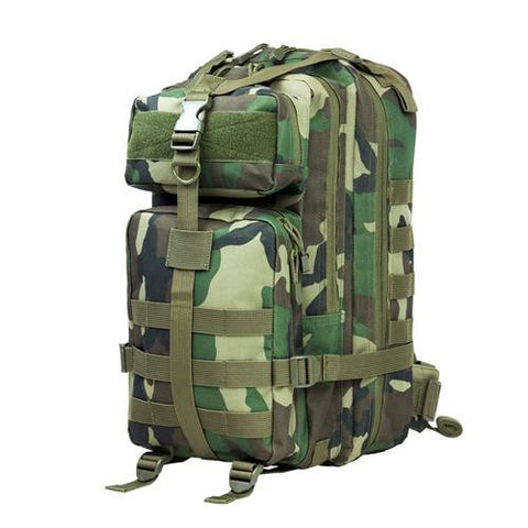 NcStar - Small Backpack - Woodland Camo