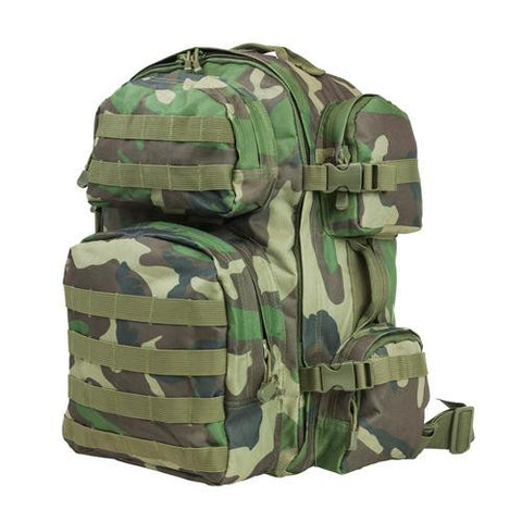 NcStar - Tactical Backpack - Woodland Camo