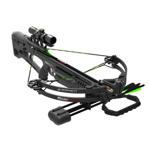 Barnett - Quad Edge-340 fps-4x32 Scope-3 Arrows-Black