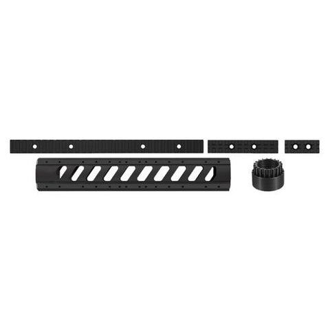 Advanced Technology Intl - AR-15 Aluminum 6-Side Rifle Length Free Float Forend w-Rail Pack