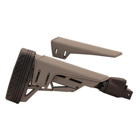 Advanced Technology Intl - Saiga TactLite Elite Six Position Adjustable Stock with Scorpion Recoil Pad - Destroyer Gray