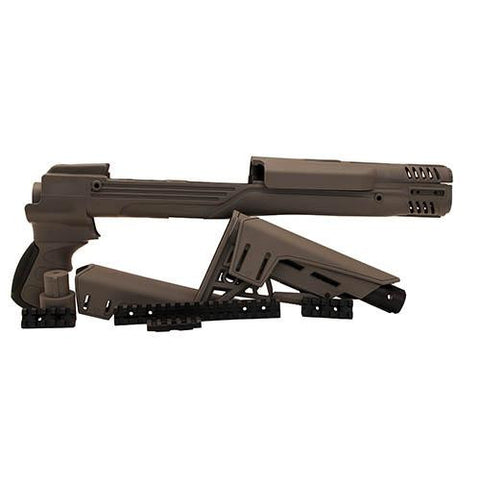 Advanced Technology Intl - Ruger Mini-Thirty TactLite Adjustable Stock Destroyer Gray w-SRS