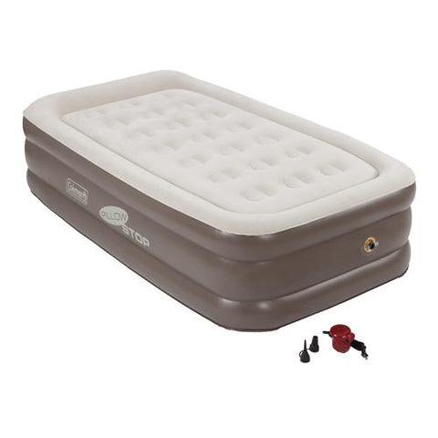 Coleman - Airbed - Twin, Double High, Pillowstop Combo
