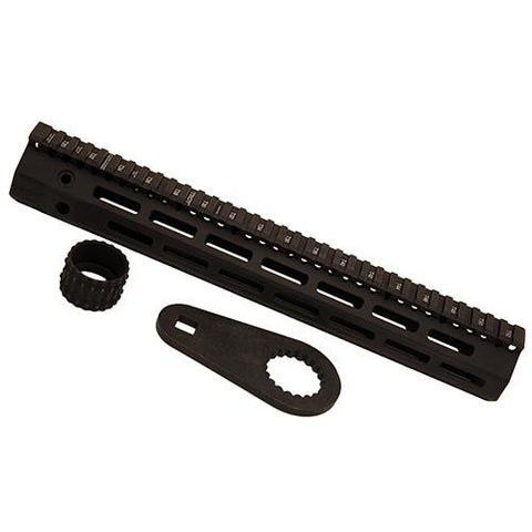 "Troy Industries - 308 M-Lok Aluminum Rail - 13"" Black"