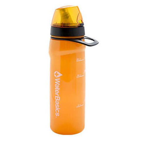 Aquamira - WaterBasics Filtered Water Bottle - Red Line