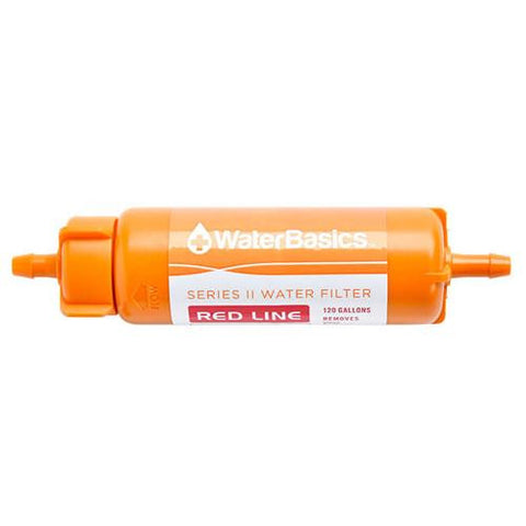 Aquamira - WaterBasics Series II Emergency Filter - Red Line 120