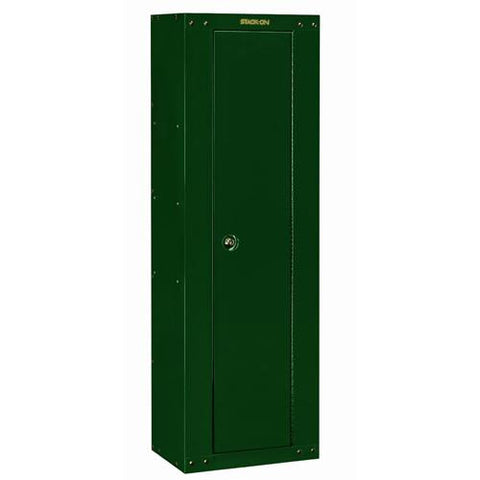 Stack-On - Ready to Assemble Security Cabinet - 8 Rifles or Shotguns. Green