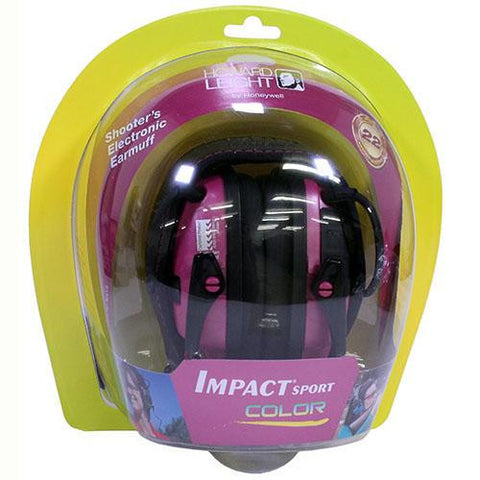 Howard Leight - Impact Sport Electronic Earmuff - Pink