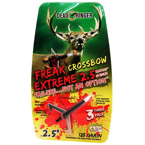 Dead Ringer - Broadheads - Freak Extreme, 125 Grains