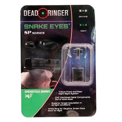 Dead Ringer - Replacement Tritium Night Sight - Springfield: XDS .45 ACP or  9mm