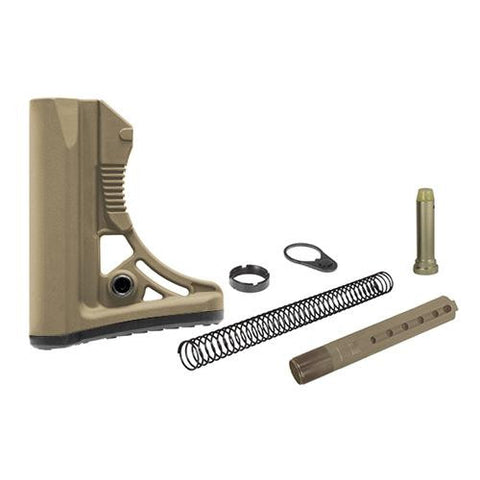 Leapers Inc. - UTG PRO Model 4 Ops Ready S3 Commercial Spec - Stock Kit, Flat Dark Earth