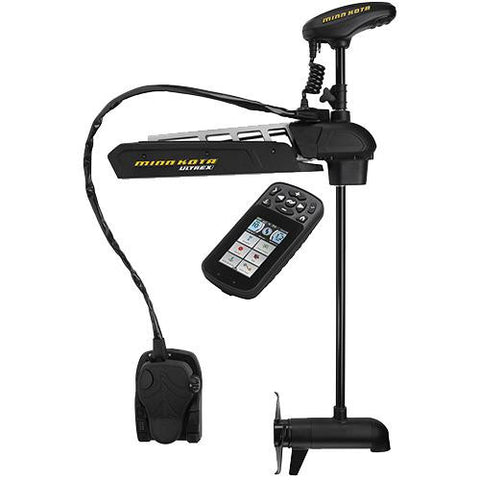 "Minn Kota - Ultrex 112 Trolling Motor - US2, 45"" Shaft Length, 112 lbs Thrust, 36 Volts with i-Pilot Link and Bluetooth"