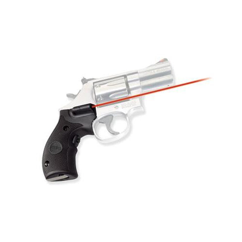 Crimson Trace - Smith and Wesson - K-L Frame, Round Butt Overmold, Front Activation