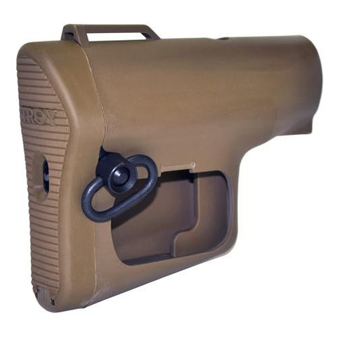 Troy Industries - GPS NAV Stock - Tan, No GPS