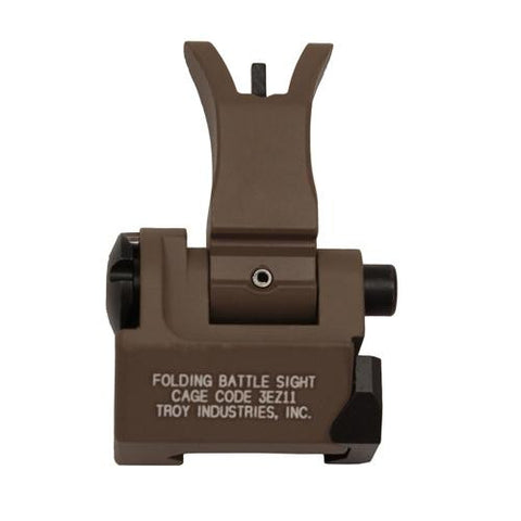 Troy Industries - Front Folding Style M4 Sight - Flat Dark Earth