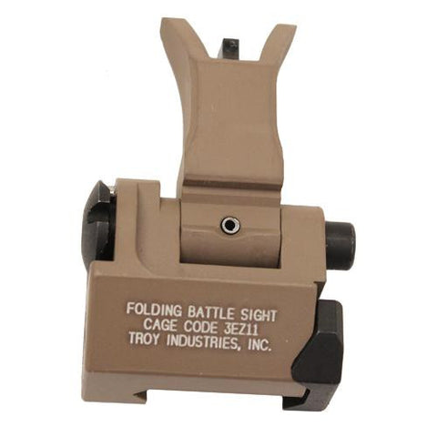 Troy Industries - Front Folding Style M4 Sight - Flat Dark Earth, Tritium