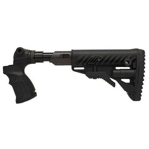 Mako Group - M4 Folding-Collapsible Buttstock w-Shock Absorber for Mossberg 500-590