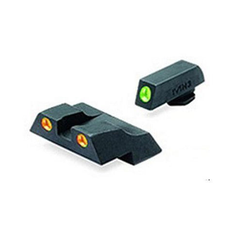 Mako Group - Glock - Tru-Dot Sights - G26 & 27 Green-Orange Fixed Set