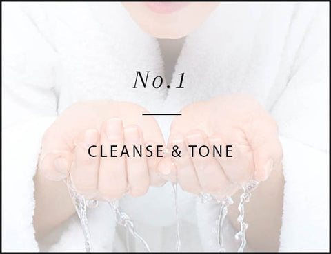 cleanse and tone