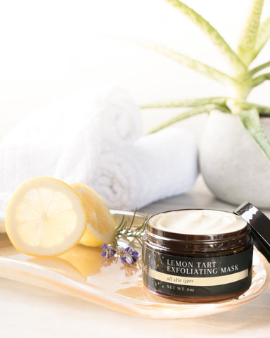 laurme skin care lemon exfoliating mask