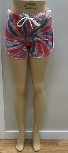French Terry Tie Dye Tornado Short