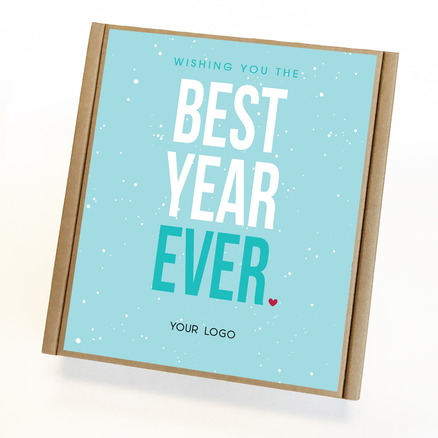 Best Year Ever Eco Custom Caramel New Years Gift Box