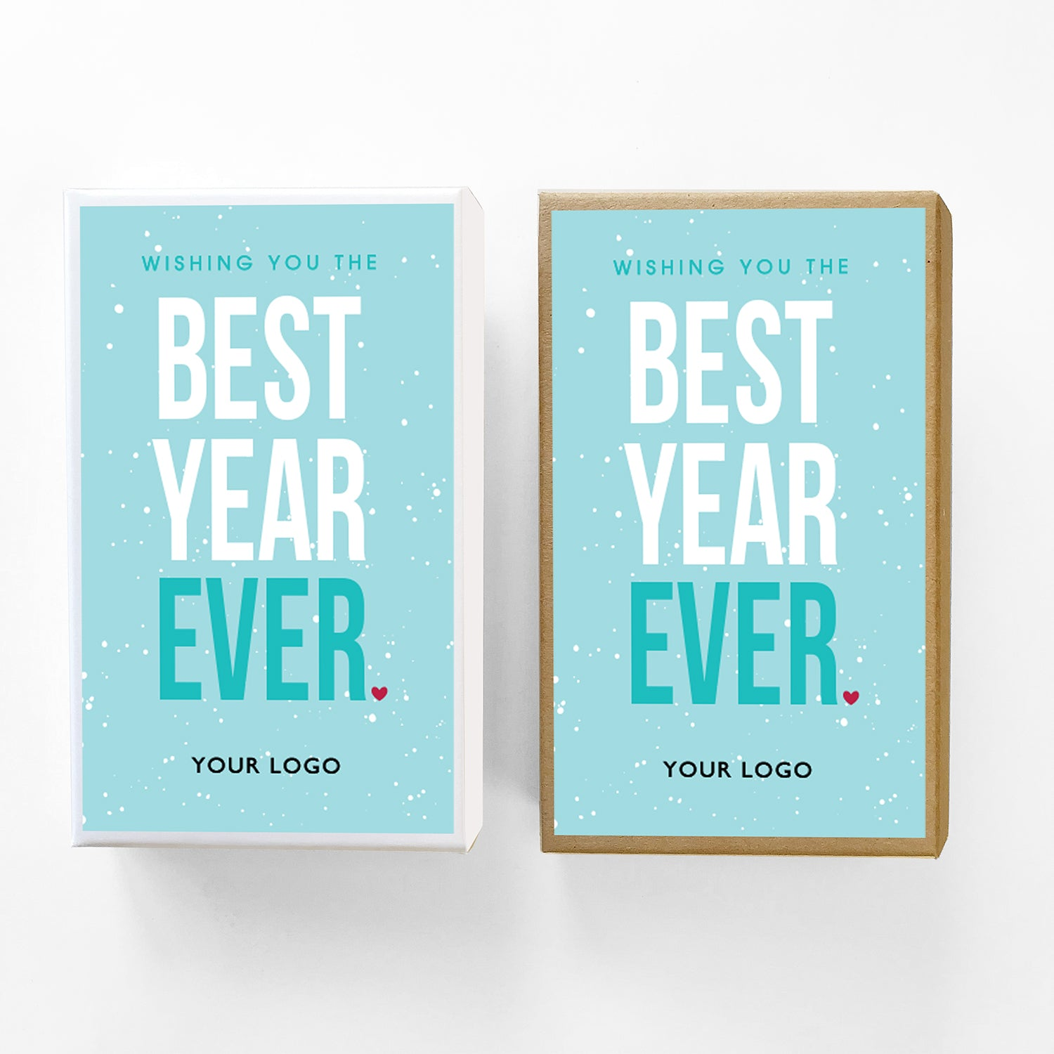 Best Year Ever Custom Caramel New Years Gift Box