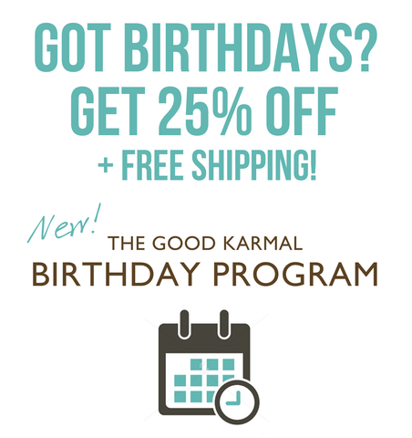The Good Karmal Birthday Program