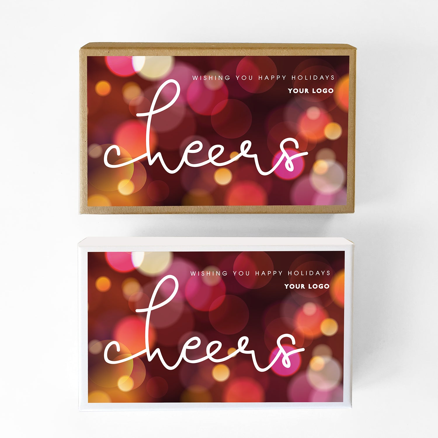 Cheers Custom Caramel Holiday Gift Box