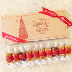 Christmas Caramel Gift Box of 10