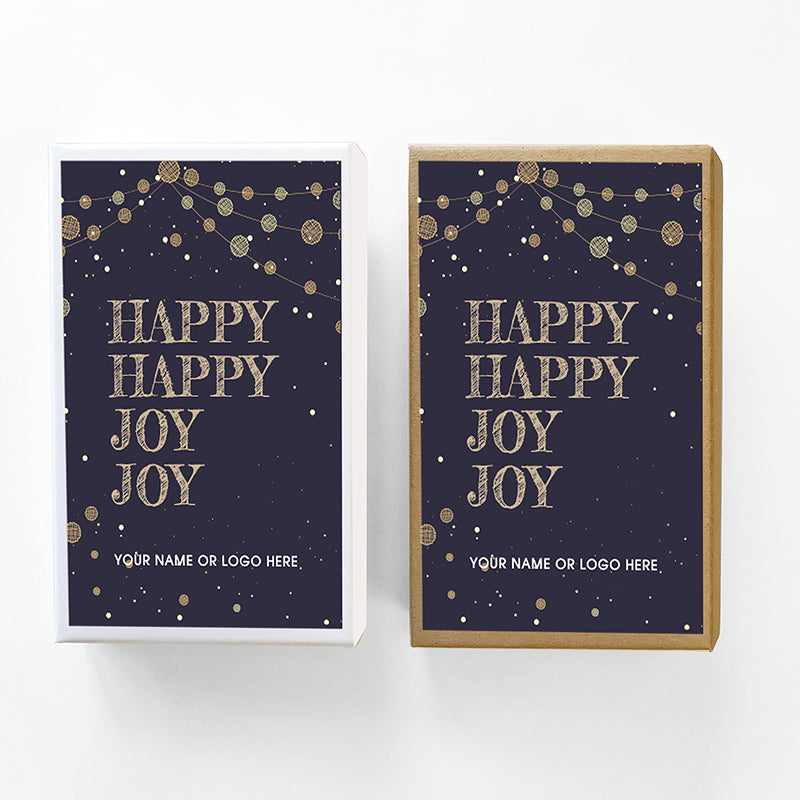 Happy Joy Holiday Caramel Gift Box Sampler