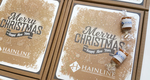 Hainline Holiday Eco Caramel Gift Box