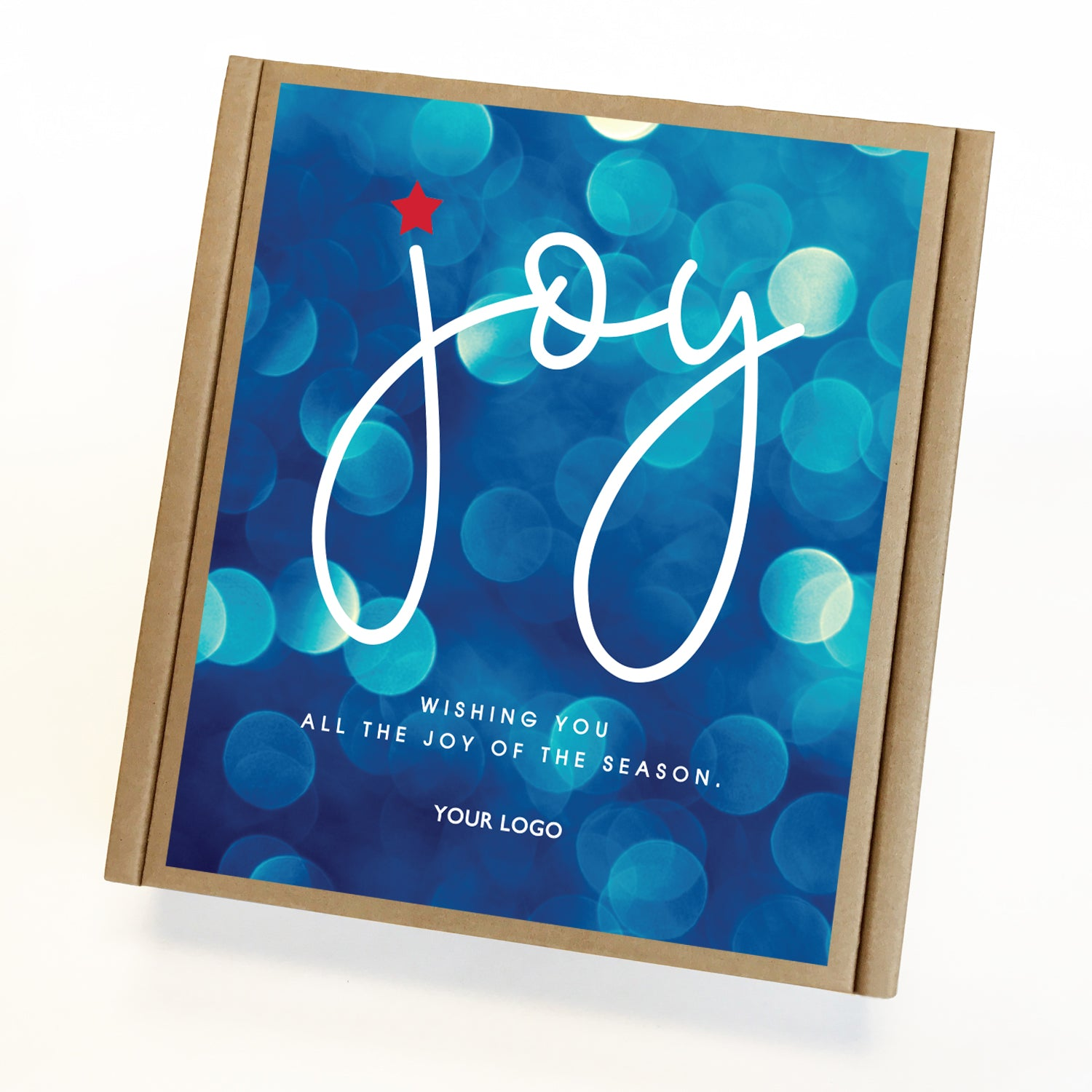 Joy Eco Custom Caramel Holiday Gift Box