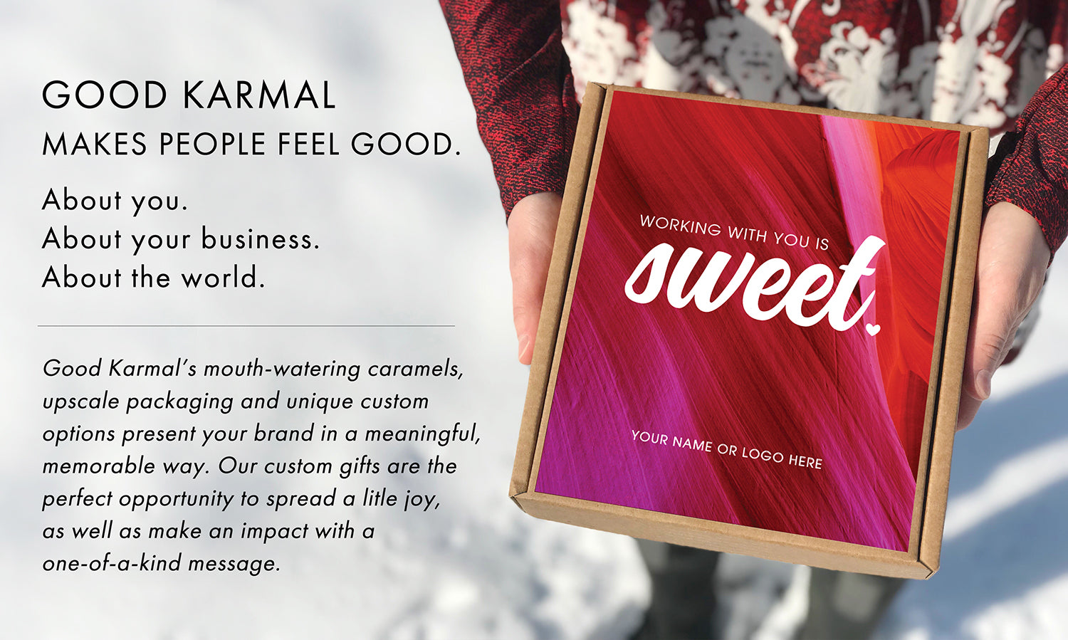Corporate Gifts from Good Karmal