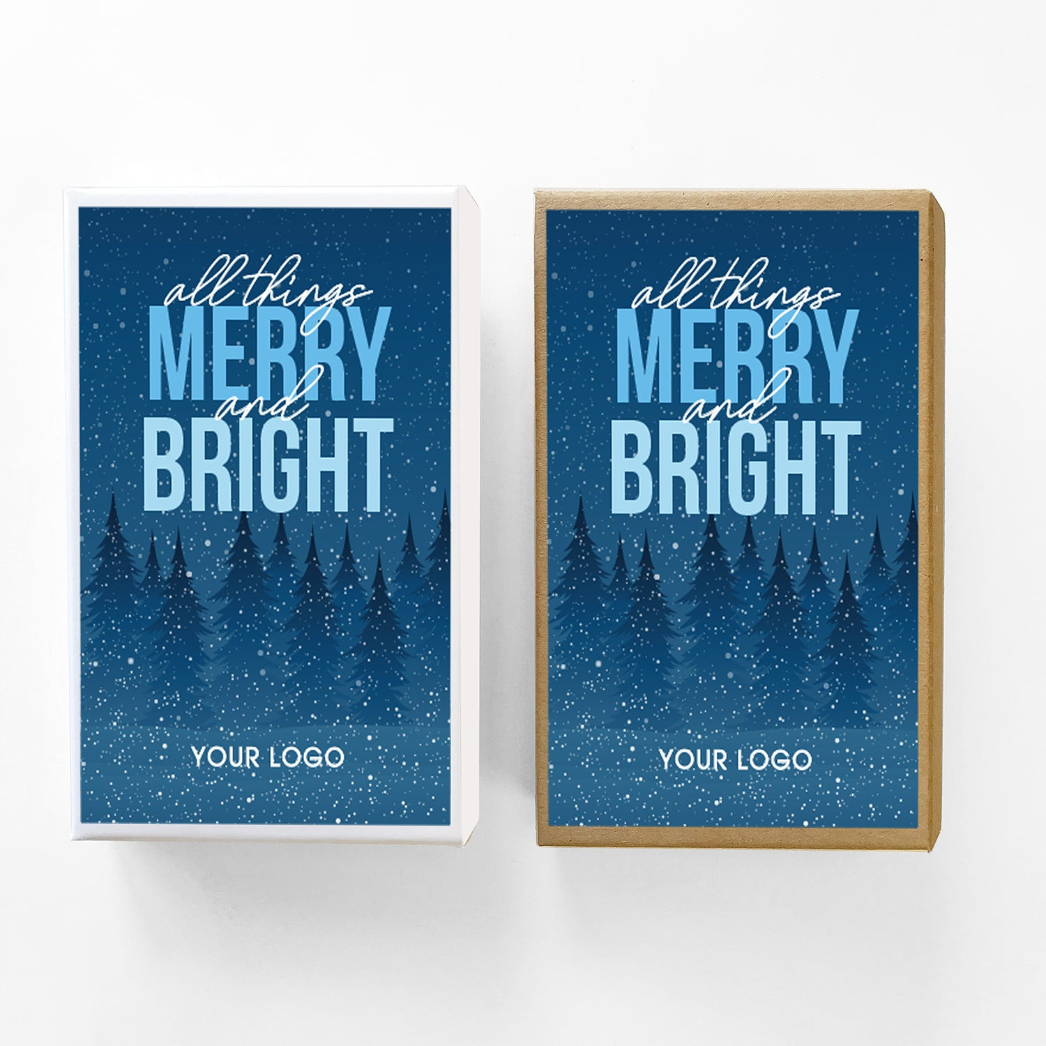 Merry and Bright Caramel Gift Box Sampler