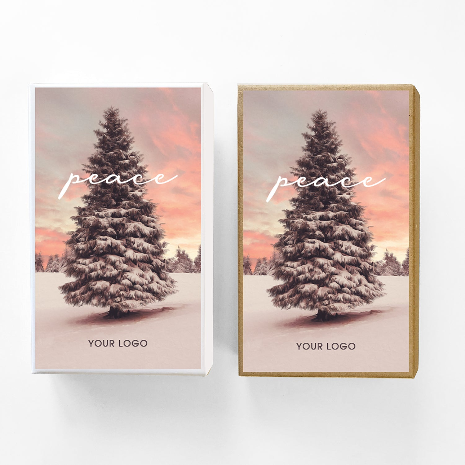 Peace Tree Custom Caramel Holiday Gift Box