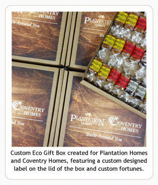 Custom caramel Eco Gift Box for building industry