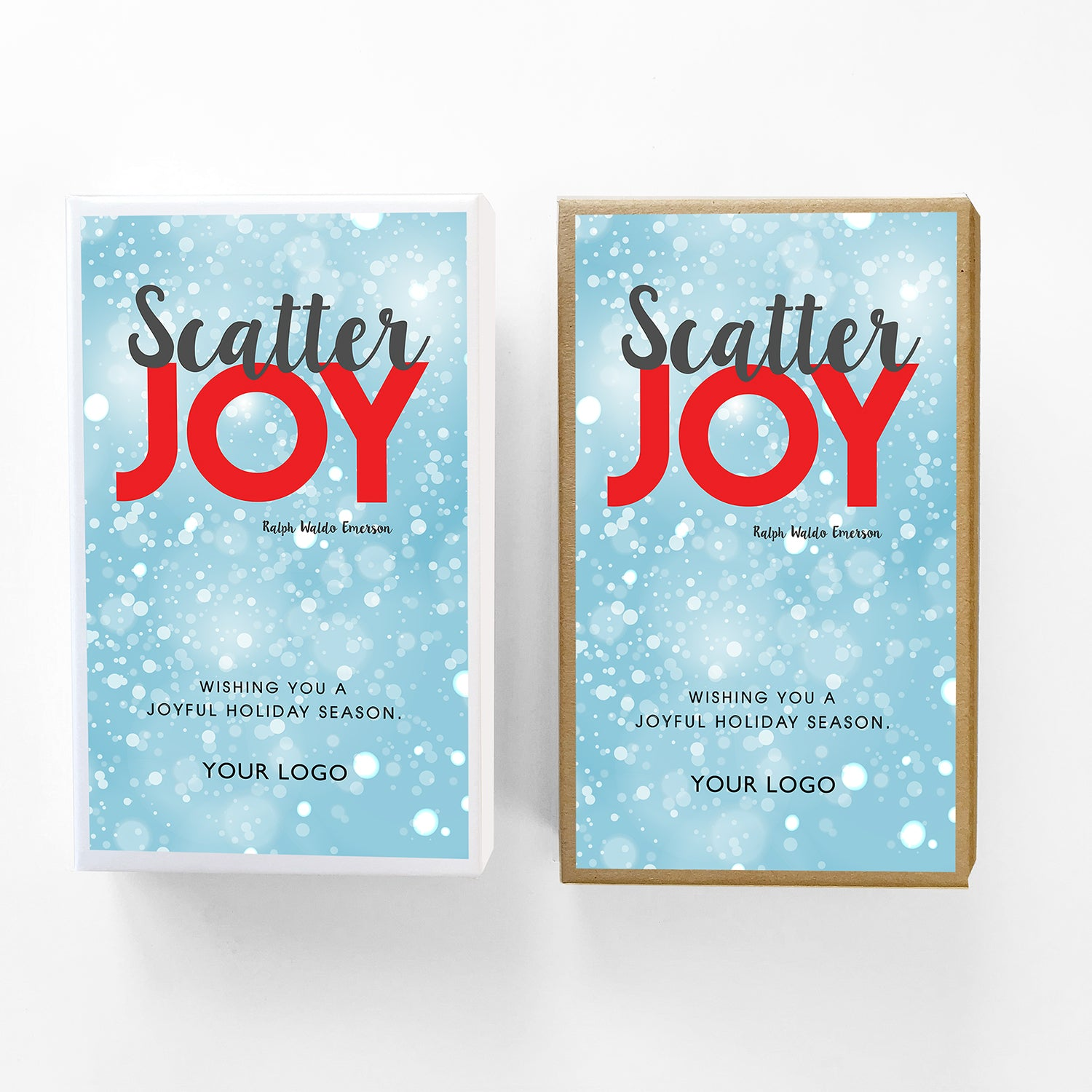 Scatter Joy Custom Caramel Holiday Gift Box
