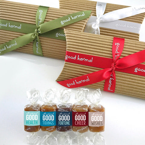 Corrugated Pack - 5 Caramels, Holiday