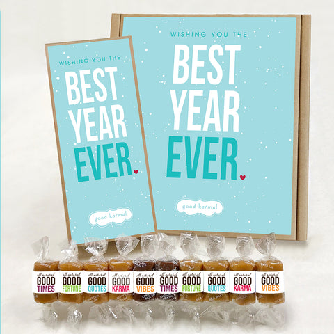 Caramel Gift Box - Best Year Ever