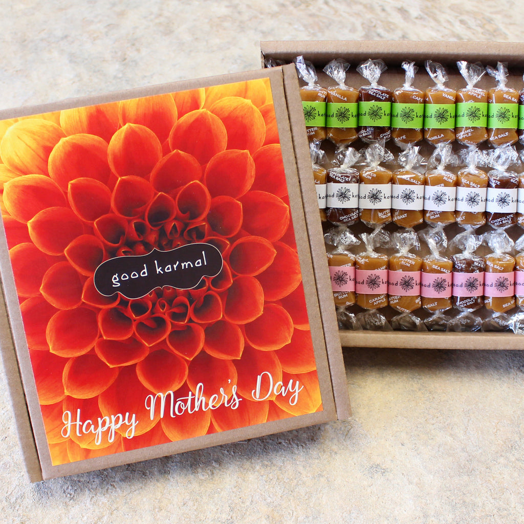 Mother's Day Eco Caramel Gift Box