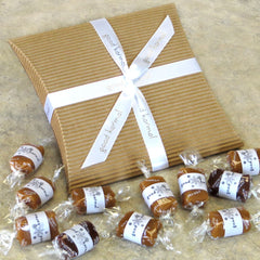 Good Karmal's Snowflake Double Caramel Flavor Sampler contains 12 all-natural, creamy caramels wrapped in positive quotes.